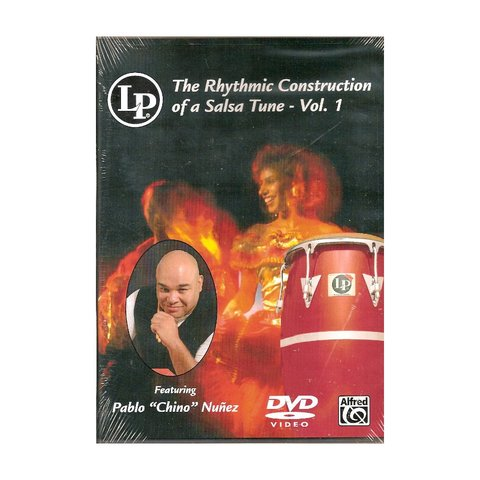 "Pablo ""Chino"" Nunez: The Rhythmic Construction of a Salsa Tune Vol. 1 DVD"