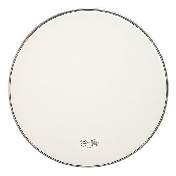 "Ludwig Ludwig Weather Master Smooth White Heavy 18"" Bass Drumhead"