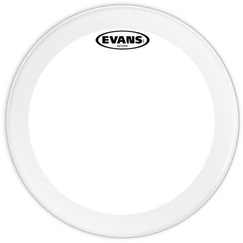 """Evans EQ3 Clear 18"""" Bass Drumhead"""