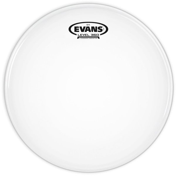 "Evans Evans G14 Coated 15"" Batter Tom Drumhead"