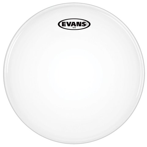 """Evans G12 Coated White 14"""" Drumhead"""