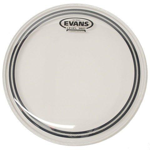 """Evans EC Resonant Clear 15"""" Tom Drumhead"""