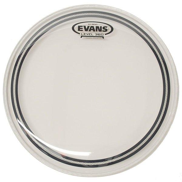 """Evans Evans EC Resonant Clear 15"""" Tom Drumhead"""