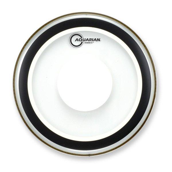 "Aquarian Aquarian Studio-X Series 18"" Drumhead with Power Dot"