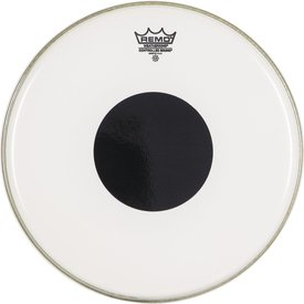 "Remo Remo Clear Controlled Sound 10"" Diameter Batter Drumhead - Black Dot on Top"