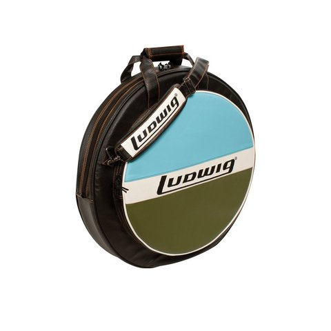"""Ludwig Atlas Classic 24"""" Cymbal Bag with Classic Blue/Olive Style"""