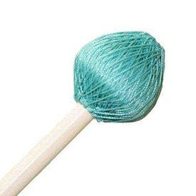 "Mike Balter Mike Balter 125B Super Vibe Series 15 1/2"" Medium Soft Aqua Polyester Vibe Mallets with Birch Handles"