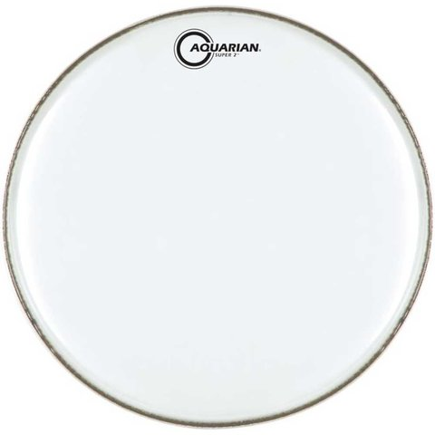 """Aquarian Super-2 Series Texture Coated 15"""" (2-Ply) Drumhead"""