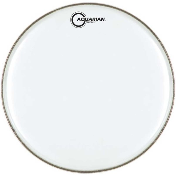 "Aquarian Aquarian Super-2 Series Texture Coated 15"" (2-Ply) Drumhead"