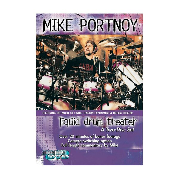 Hal Leonard Mike Portnoy: Liquid Drum Theater DVD