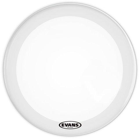"""Evans EQ3 16"""" Smooth White Resonant Bass Drumhead; No Port"""