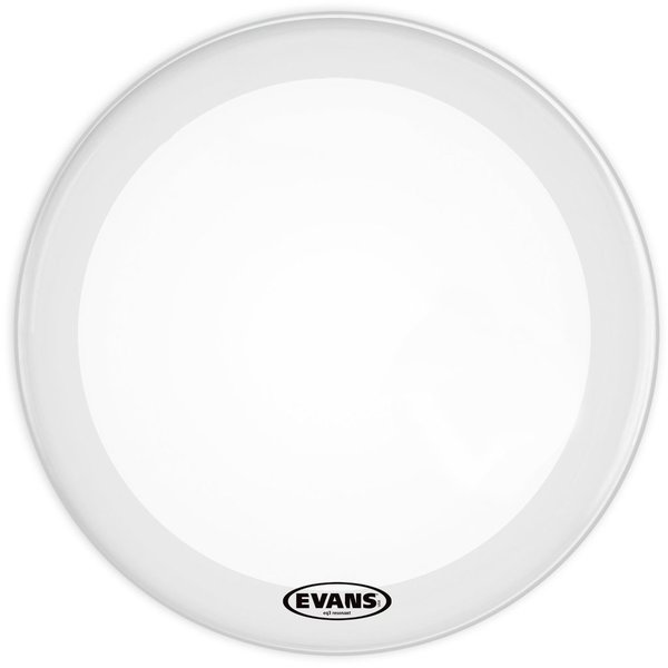"Evans Evans 16"" EQ3 RES SMTH WHT  NO PORT"