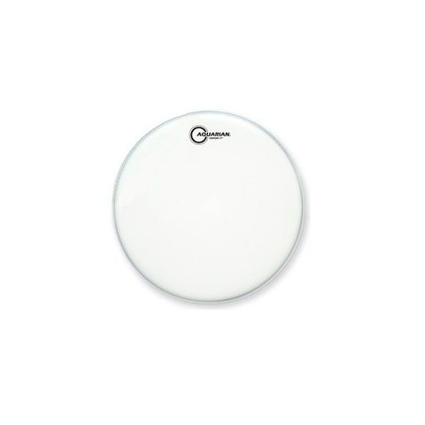 """Aquarian Concert 5 Series 13"""" Snare Drumhead - White"""