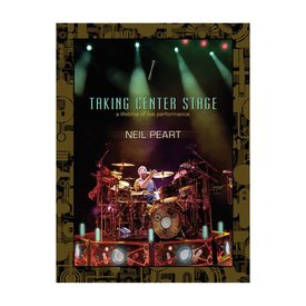 Hal Leonard Neil Peart: Taking Center Stage DVD