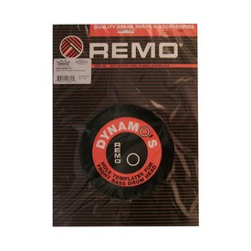 "Remo Remo Dynamo 5-1/2"" Diameter Pack - Black"