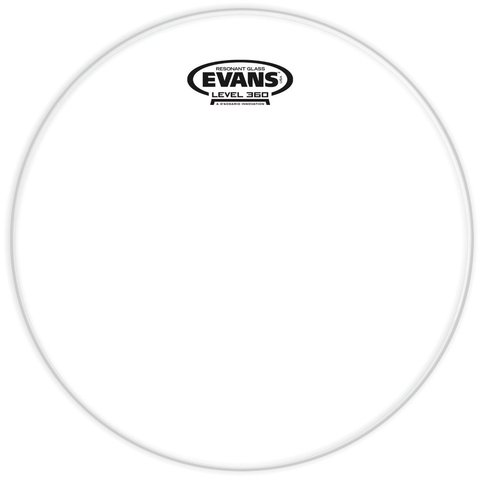 "Evans Resonant Glass 10"" Tom Drumhead"
