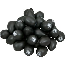 LP LP Plastic Black Egg Shakers - Bag of 36