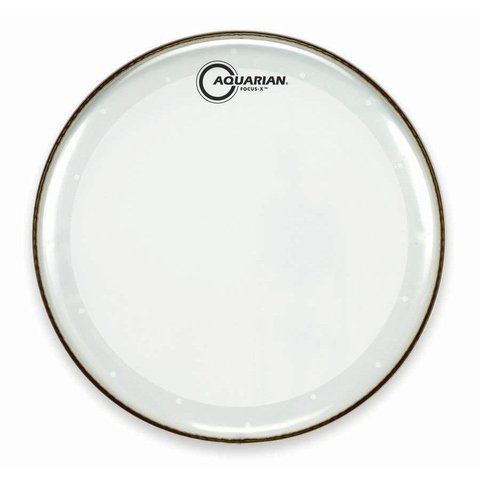 """Aquarian Focus-X Series 13"""" Drumhead - Clear"""
