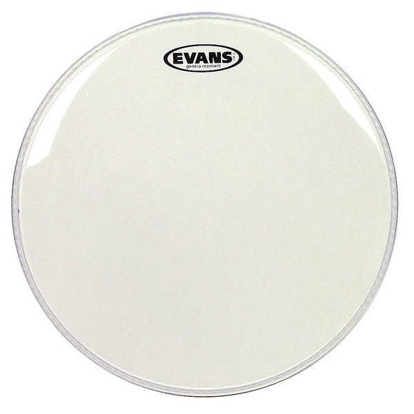 "Evans Evans Genera Resonant Clear 10"" Tom Drumhead"