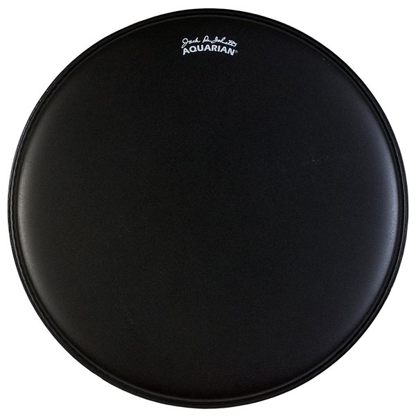 "Aquarian Aquarian Jack DeJohnette Thick Coated 20"" Drumhead - Black"