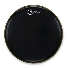 "Aquarian Aquarian Classic Clear Series 16"" Bass Drumhead - Black"
