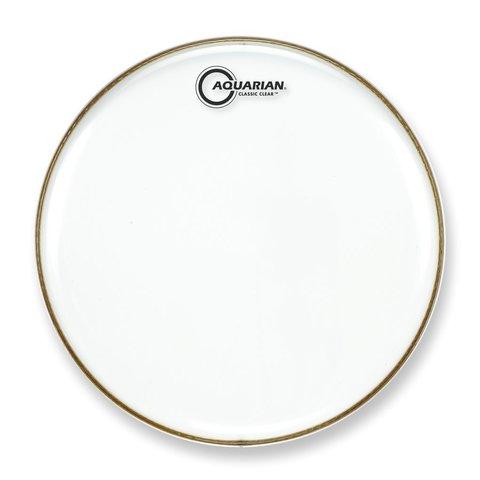 """Aquarian Classic Clear Series 14"""" Drumhead"""