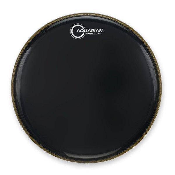"""Aquarian Aquarian Classic Clear Series 20"""" Drumhead - Black"""