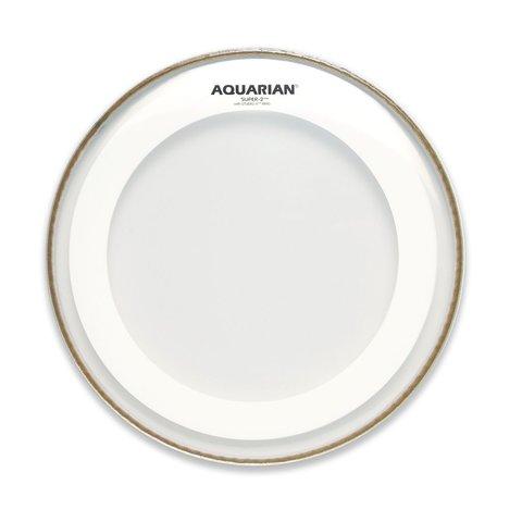 "Aquarian Super-2 Series 13"" Drumhead with Studio-X Ring"
