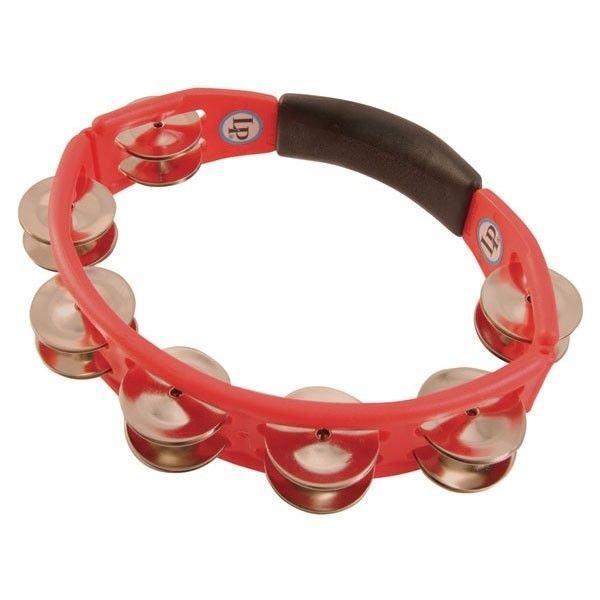 LP LP Cyclops Hand Tambourine, Red