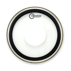 """Aquarian Aquarian 16"""" (2-Ply) Drumhead with Power Dot and Glue"""