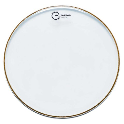 "Aquarian Force Ten 14"" Drumhead - Clear"