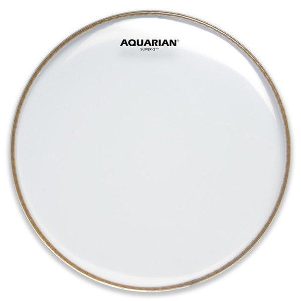"Aquarian Aquarian Super-2 Series 13"" (2-Ply) Drumhead"