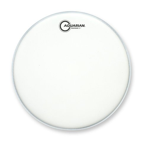 "Aquarian Response 2 Series Texture Coated 22"" (2-Ply) Bass Drumhead"