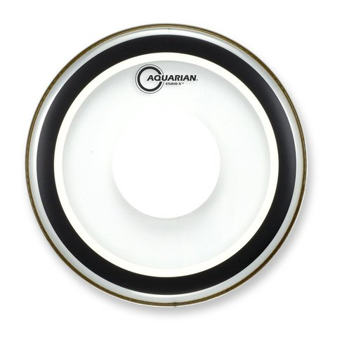 "Aquarian Studio-X Series 15"" Drumhead with Power Dot"