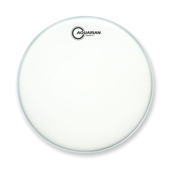 "Aquarian Aquarian Focus-X Texture Coated 13"" Drumhead with Reverse Pad"