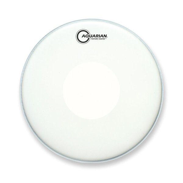 "Aquarian Aquarian Texture Coated 10"" Drumhead with Power Dot Underside"