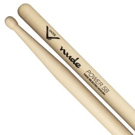 Vater Vater Nude Series Power 5B Wood Tip Drumsticks