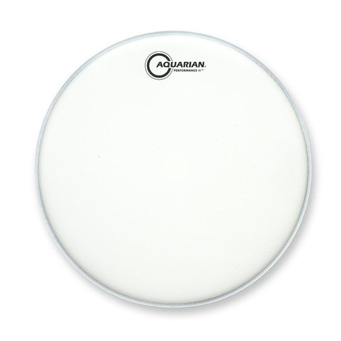 "Aquarian Performance II Series Texture Coated 10"" (2-Ply) Drumhead"
