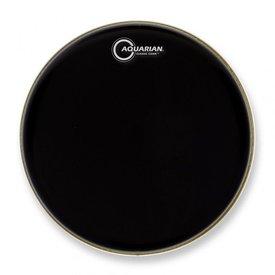 """Aquarian Aquarian Classic Clear Series 22"""" Drumhead - Black"""