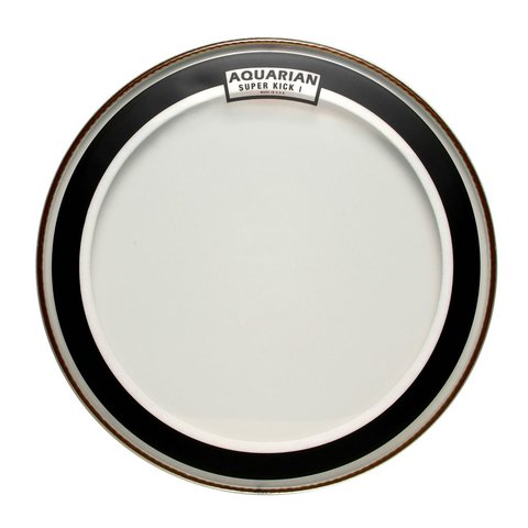 "Aquarian Super-Kick Series Clear 22"" (1-Ply) Drumhead"