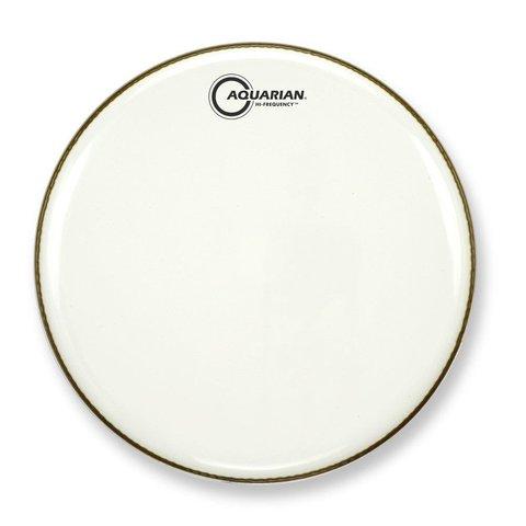 """Aquarian Hi-Frequency Series 10"""" Thin Drumhead - White"""