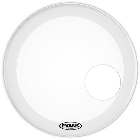 """Evans EQ3 Resonant Smooth White 22"""" Bass Drumhead"""