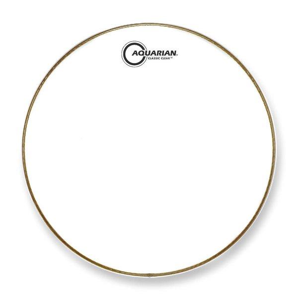 """Aquarian Aquarian Classic Clear Series 14"""" Drumhead - White"""