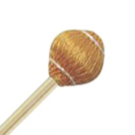 """Mike Balter Mike Balter 21R Pro Vibe Series 15 1/2"""" Hard Yellow Cord Marimba/Vibe Mallets with Rattan Handles"""