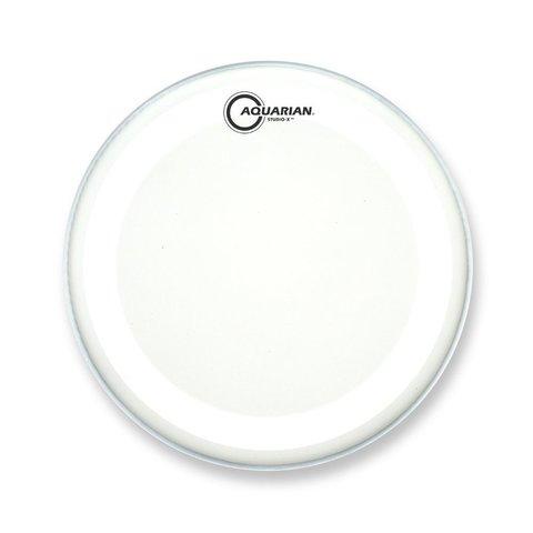 "Aquarian Studio-X Series Texture Coated 10"" Drumhead - White"