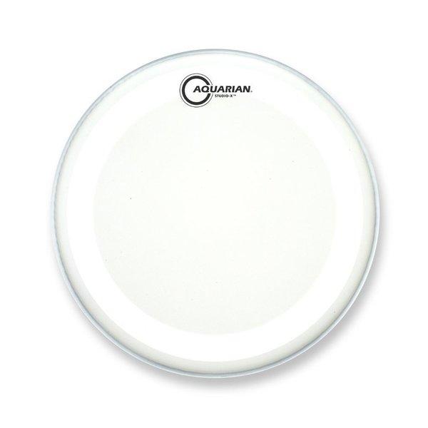 "Aquarian Aquarian Studio-X Series Texture Coated 10"" Drumhead - White"