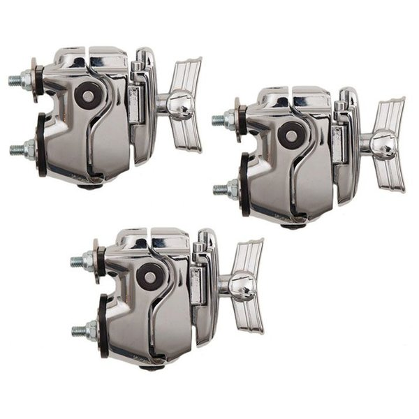Ludwig Ludwig Atlas Single Tom Mount (Replaces One Lug on Drum) (3-Pack)