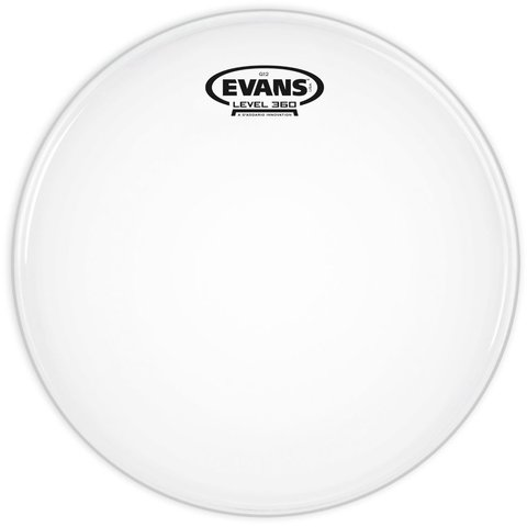 """Evans G12 Coated White 16"""" Drumhead"""