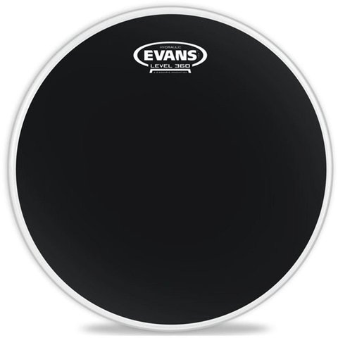 "Evans Hydraulic Black Coated 14"" Drumhead"