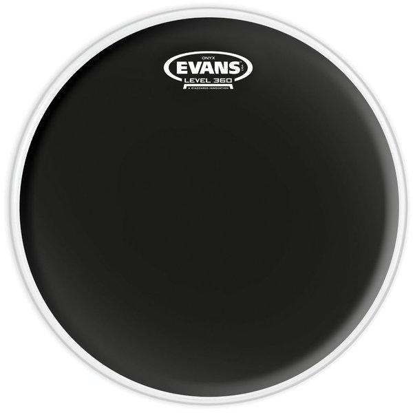 """Evans Evans Onyx Coated 14"""" (2-Ply) Drumhead"""